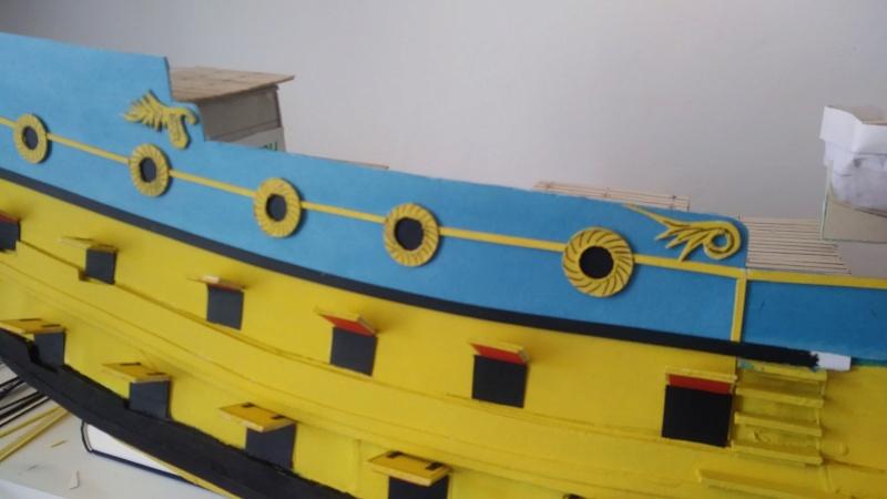 vascello 1760 da 76 cannonni - cartomodello 1/50 autocostruito - Pagina 2 1110