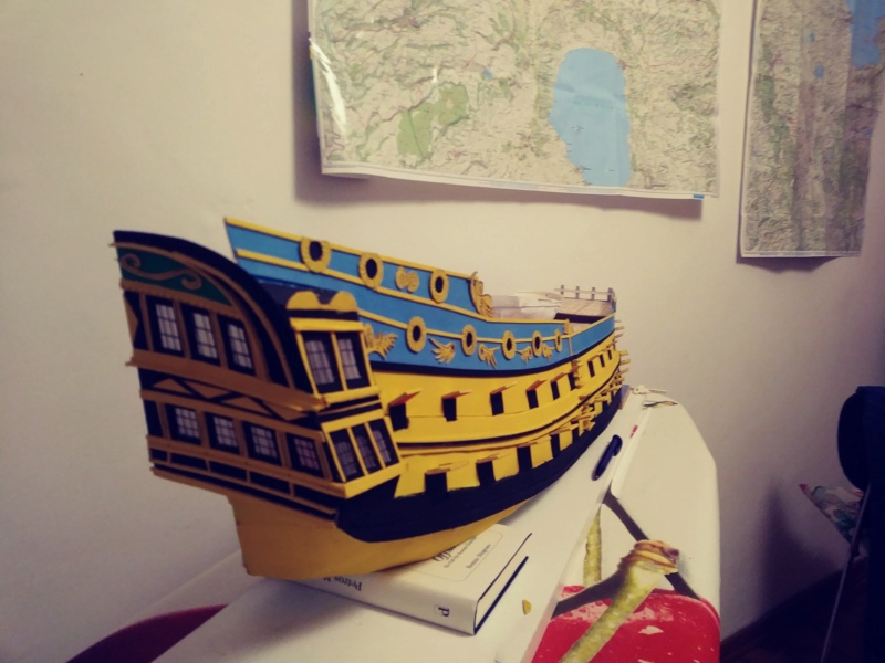 vascello 1760 da 76 cannonni - cartomodello 1/50 autocostruito - Pagina 4 1611