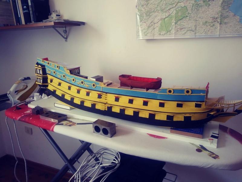 vascello 1760 da 76 cannonni - cartomodello 1/50 autocostruito - Pagina 2 1710