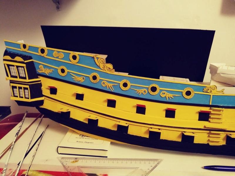 vascello 1760 da 76 cannonni - cartomodello 1/50 autocostruito - Pagina 2 2010