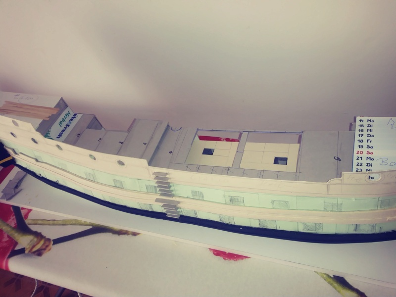vascello 1760 da 76 cannonni - cartomodello 1/50 autocostruito - Pagina 2 20200418