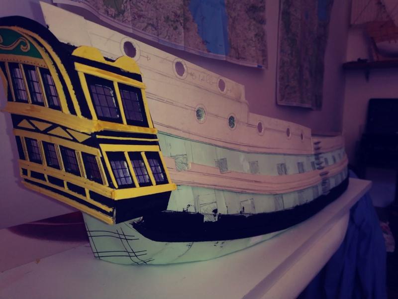 vascello 1760 da 76 cannonni - cartomodello 1/50 autocostruito - Pagina 2 20200421