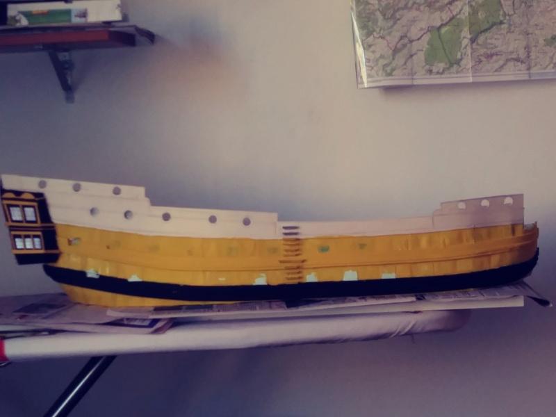 vascello 1760 da 76 cannonni - cartomodello 1/50 autocostruito - Pagina 2 20200425
