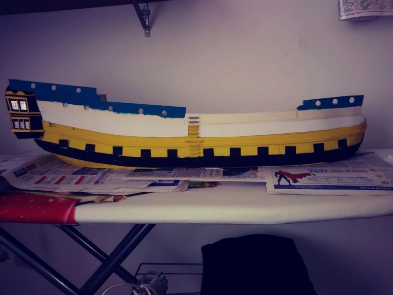 vascello 1760 da 76 cannonni - cartomodello 1/50 autocostruito - Pagina 2 20200426
