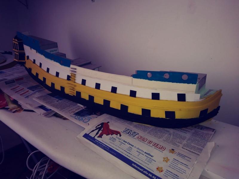 vascello 1760 da 76 cannonni - cartomodello 1/50 autocostruito - Pagina 2 20200428