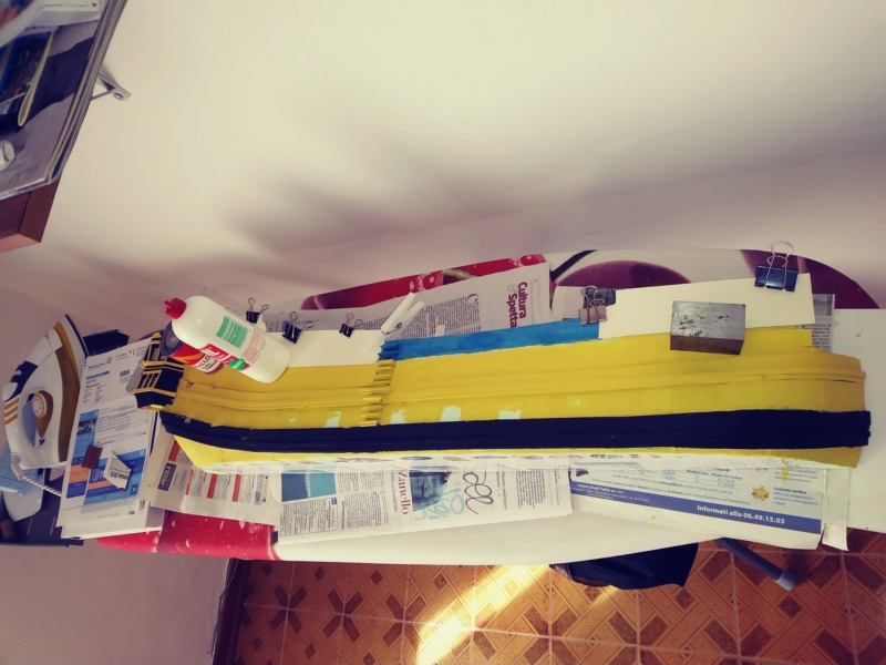 vascello 1760 da 76 cannonni - cartomodello 1/50 autocostruito - Pagina 2 20200431