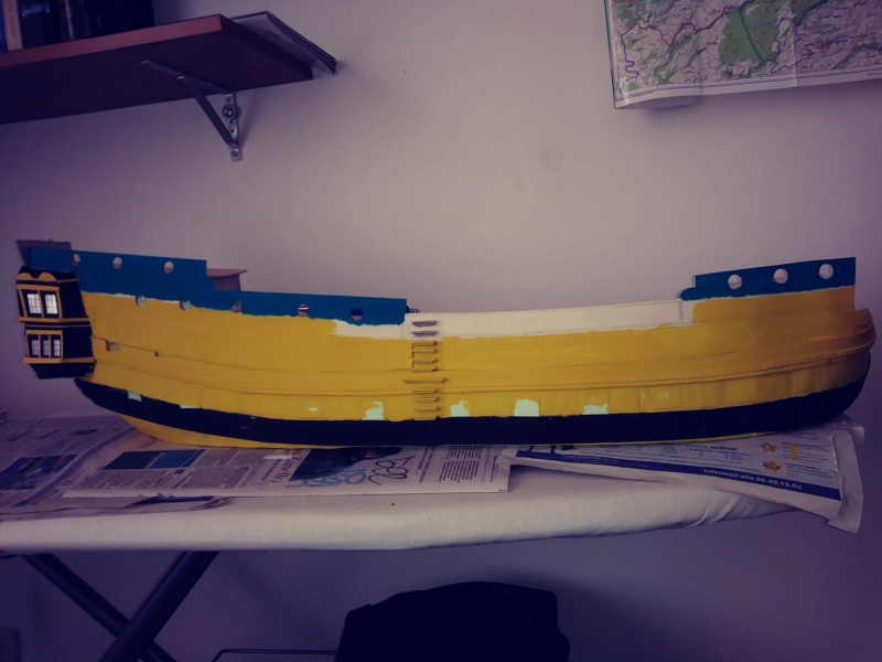 vascello 1760 da 76 cannonni - cartomodello 1/50 autocostruito - Pagina 2 20200432