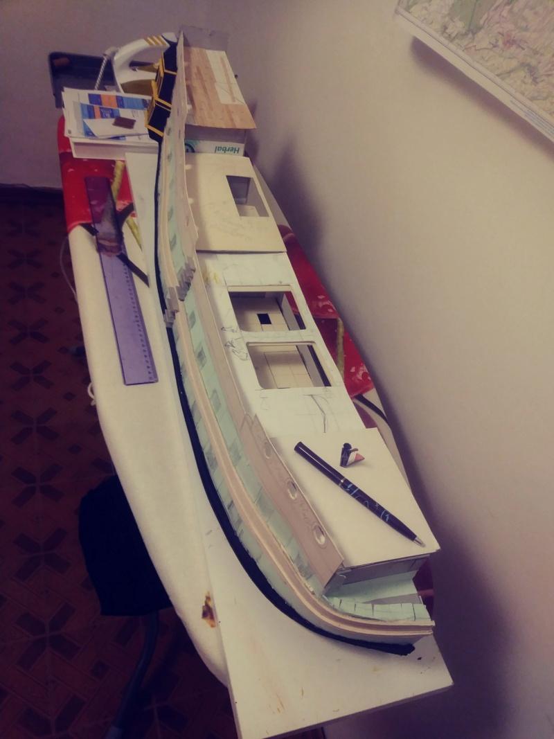 vascello 1760 da 76 cannonni - cartomodello 1/50 autocostruito - Pagina 2 20200441