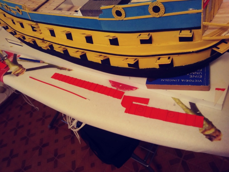 vascello 1760 da 76 cannonni - cartomodello 1/50 autocostruito - Pagina 3 20200454