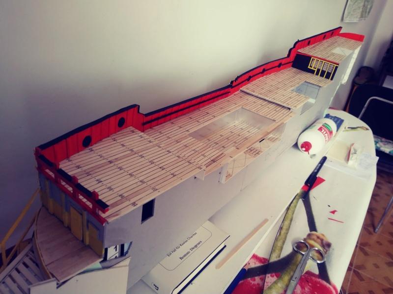 vascello 1760 da 76 cannonni - cartomodello 1/50 autocostruito - Pagina 3 20200516