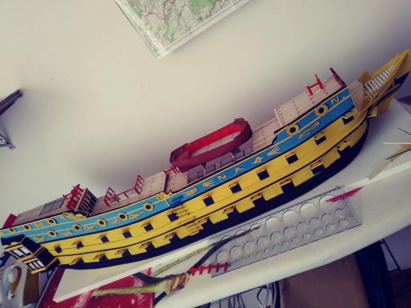 vascello 1760 da 76 cannonni - cartomodello 1/50 autocostruito - Pagina 3 20200524