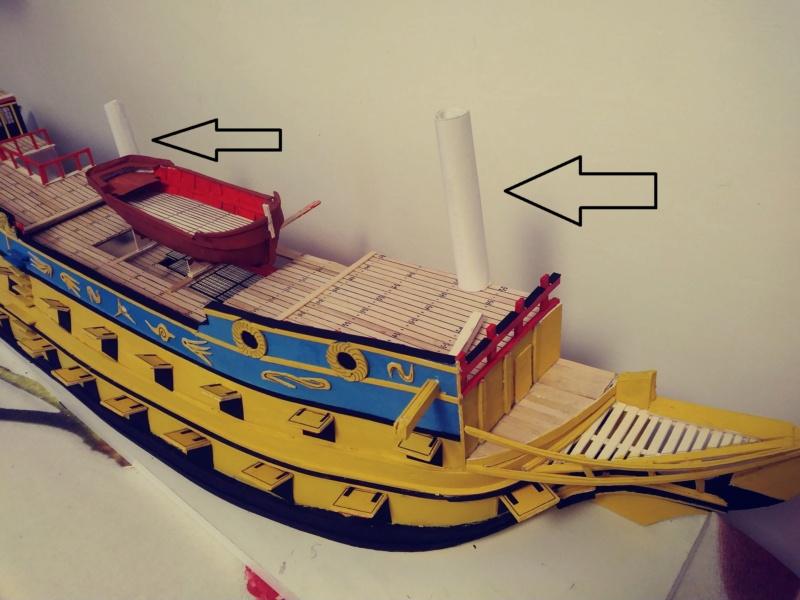 vascello 1760 da 76 cannonni - cartomodello 1/50 autocostruito - Pagina 3 20200526