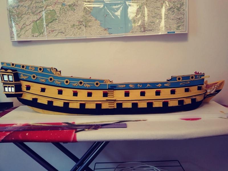 vascello 1760 da 76 cannonni - cartomodello 1/50 autocostruito - Pagina 2 2410