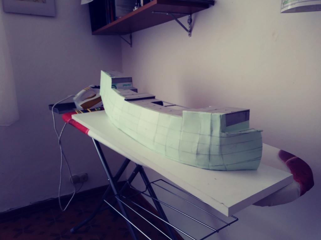 vascello 1760 da 76 cannonni - cartomodello 1/50 autocostruito 3_fian11