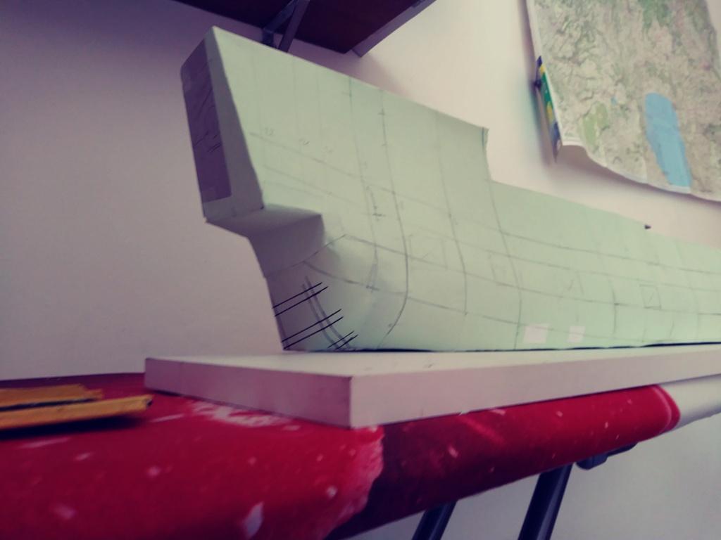 vascello 1760 da 76 cannonni - cartomodello 1/50 autocostruito 3_fian13