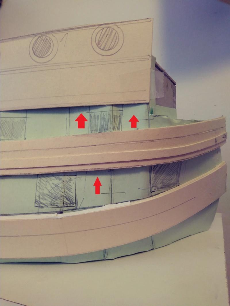 vascello 1760 da 76 cannonni - cartomodello 1/50 autocostruito 4_1mur10