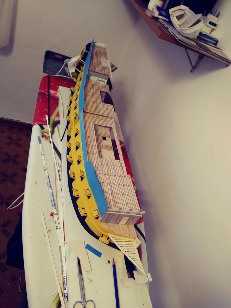 vascello 1760 da 76 cannonni - cartomodello 1/50 autocostruito - Pagina 3 810