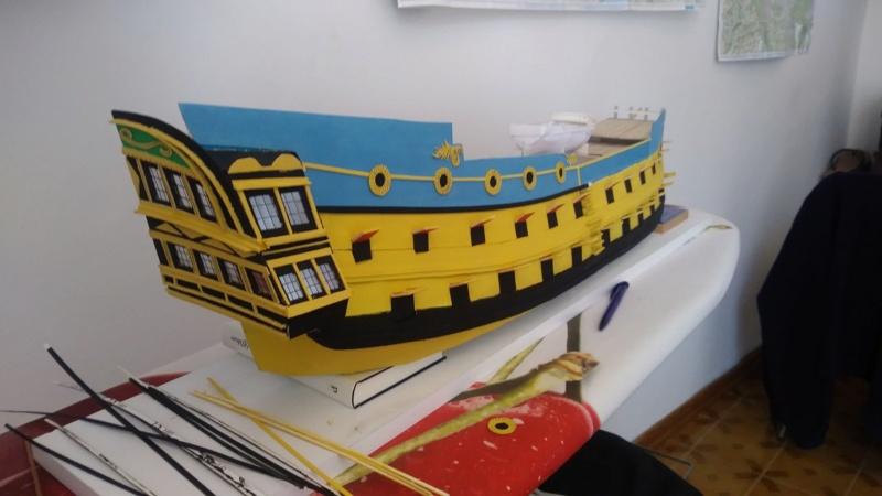 vascello 1760 da 76 cannonni - cartomodello 1/50 autocostruito - Pagina 2 910