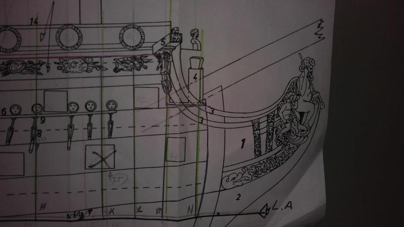 vascello 1760 da 76 cannonni - cartomodello 1/50 autocostruito - Pagina 2 Img-2013
