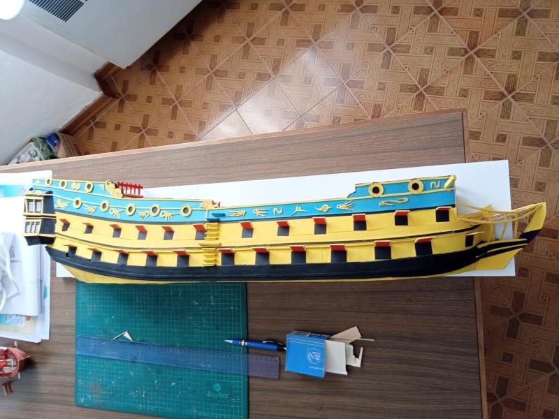 vascello 1760 da 76 cannonni - cartomodello 1/50 autocostruito - Pagina 4 Img_2120