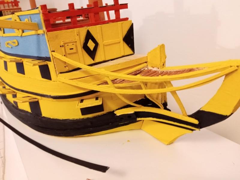vascello 1760 da 76 cannonni - cartomodello 1/50 autocostruito - Pagina 4 Img_2121