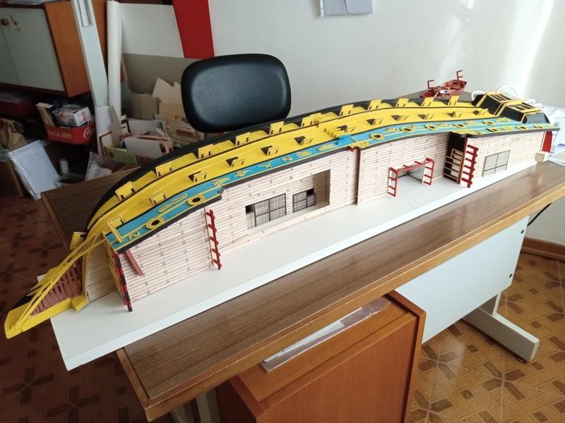vascello 1760 da 76 cannonni - cartomodello 1/50 autocostruito - Pagina 4 Img_2122