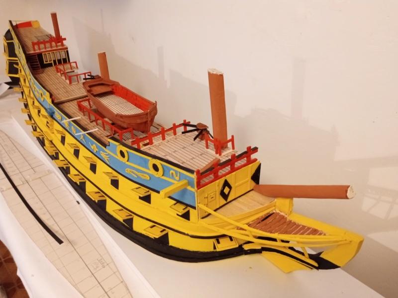 vascello 1760 da 76 cannonni - cartomodello 1/50 autocostruito - Pagina 4 Img_2124