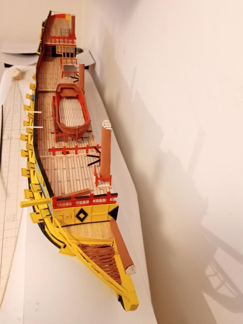 vascello 1760 da 76 cannonni - cartomodello 1/50 autocostruito - Pagina 4 Img_2125