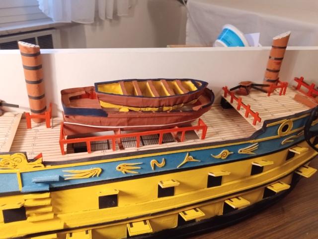 vascello 1760 da 76 cannonni - cartomodello 1/50 autocostruito - Pagina 4 Img_2132