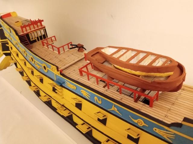 vascello 1760 da 76 cannonni - cartomodello 1/50 autocostruito - Pagina 4 Img_2133