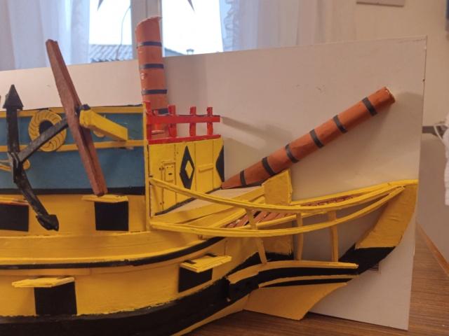 vascello 1760 da 76 cannonni - cartomodello 1/50 autocostruito - Pagina 4 Img_2134