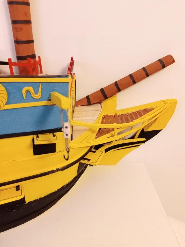 vascello 1760 da 76 cannonni - cartomodello 1/50 autocostruito - Pagina 4 Img_2136