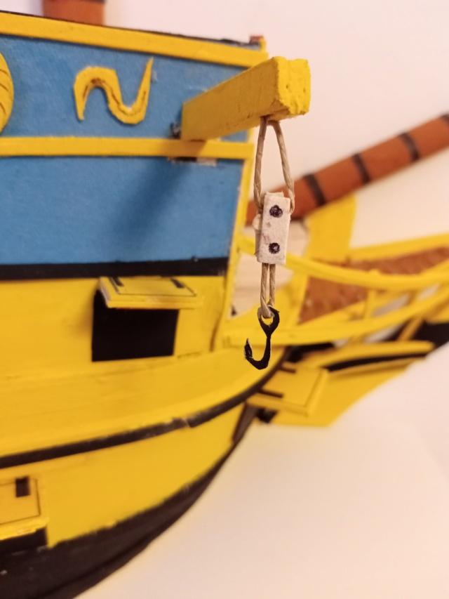 vascello 1760 da 76 cannonni - cartomodello 1/50 autocostruito - Pagina 4 Img_2137