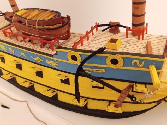 vascello 1760 da 76 cannonni - cartomodello 1/50 autocostruito - Pagina 4 Img_2138