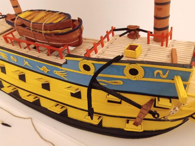 vascello 1760 da 76 cannonni - cartomodello 1/50 autocostruito - Pagina 4 Img_2141