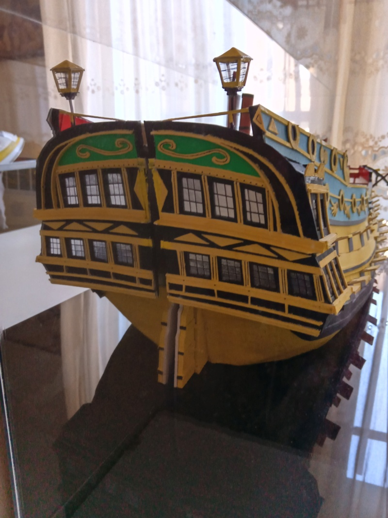 vascello 1760 da 76 cannonni - cartomodello 1/50 autocostruito - Pagina 4 Img_2265