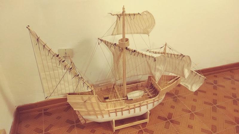vascello 1760 da 76 cannonni - cartomodello 1/50 autocostruito - Pagina 2 Santa_10