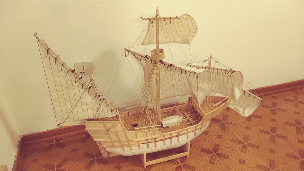 vascello 1760 da 76 cannonni - cartomodello 1/50 autocostruito - Pagina 4 Santa_12