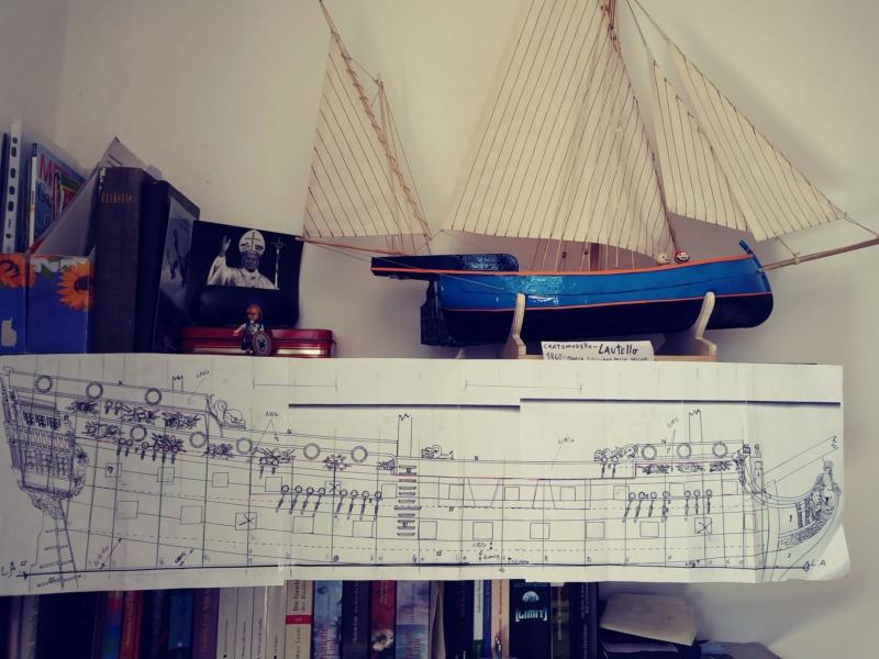 vascello 1760 da 76 cannonni - cartomodello 1/50 autocostruito - Pagina 2 Vascel11