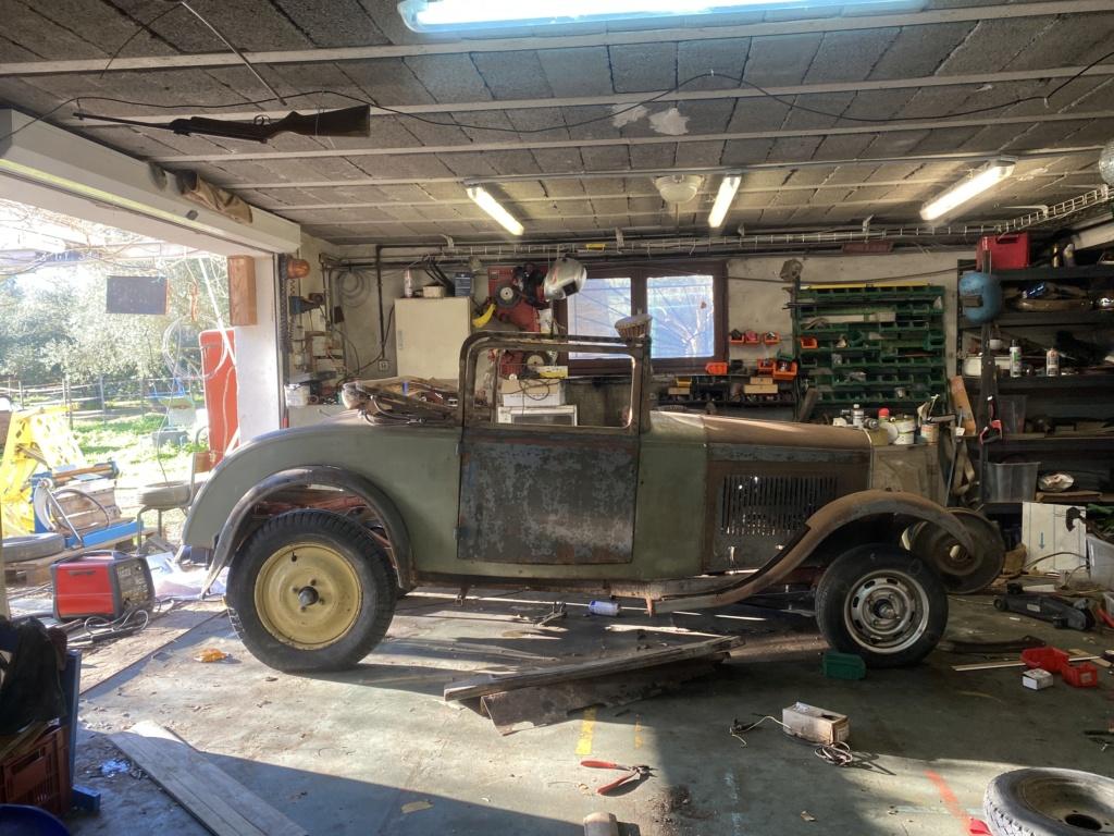 Restauration de la 201 Cabriolet de Tibo - Page 8 406a7b10
