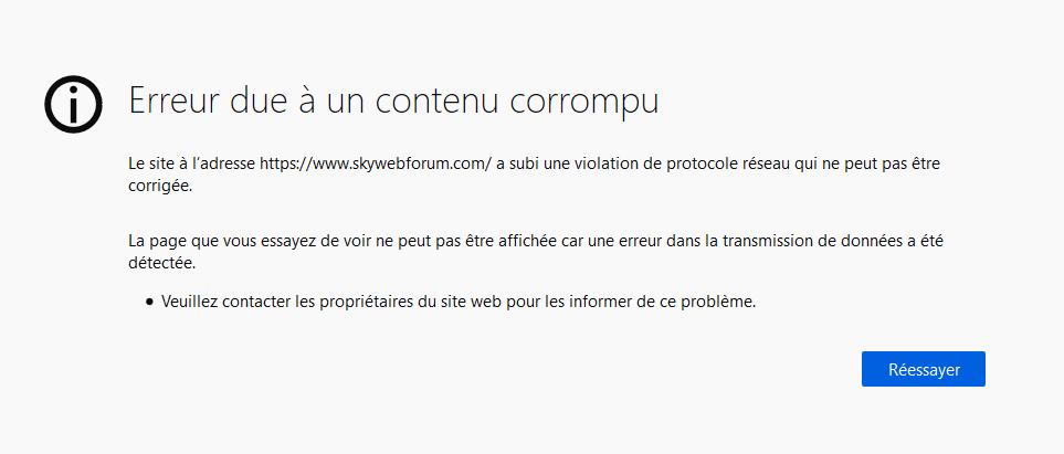 Forum inaccessible a cause du certificat SSL invalide ! Captur40