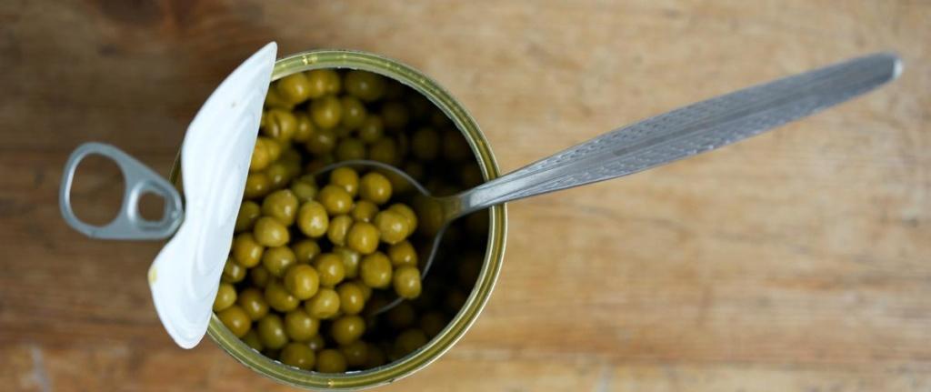 Manger équilibré tout en consommant des conserves, c'est possible Peut-o10