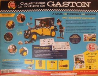 Construisez la voiture de Gaston  Gaston11