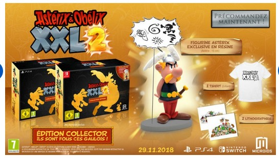 Astérix XXL2 sur Nintendo switch, Ps4, xboxnovembre 2018 Switch10