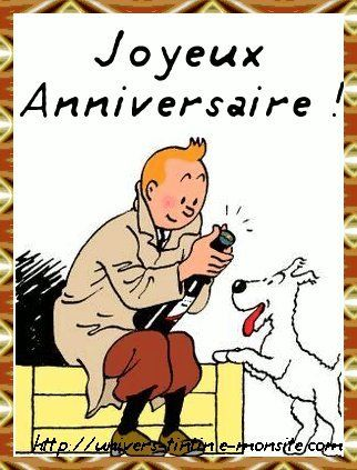 Joyeux anniversaire Lolo Tintin13