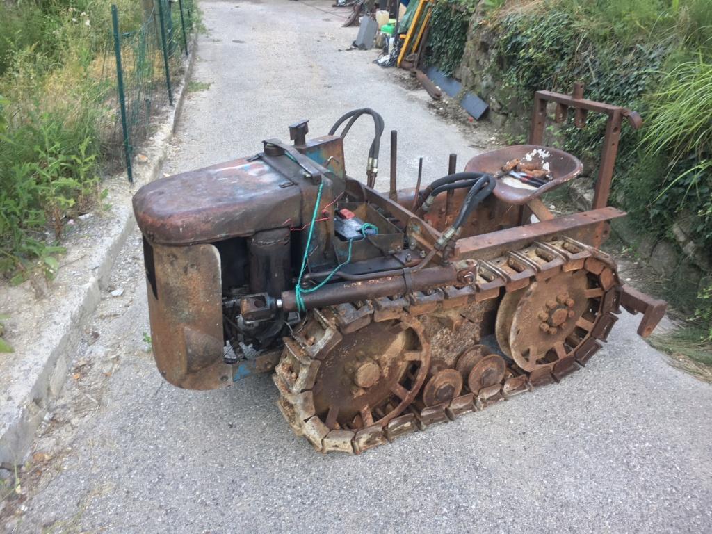 ( Vends ) chenillard staub lunic  bulldozer 900€ Img_6510