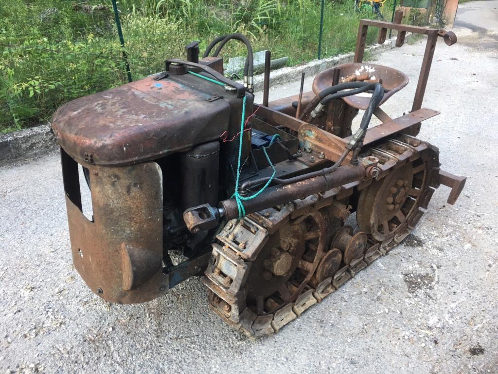 ( Vends ) chenillard staub lunic  bulldozer 900€ Img_6511