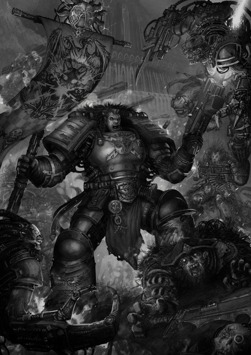 [W40K] Collection d'images : Space Marines - Page 25 Thunde10