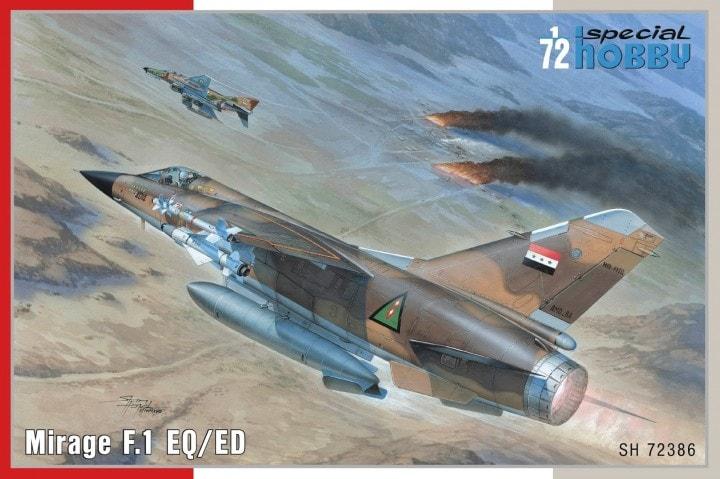 Mirage F1EQ4 ravitailleur - Irak - Special Hobby + Yahu 1/72 23180_11