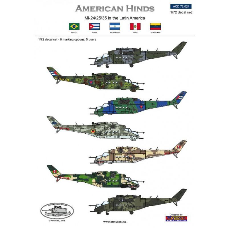 American Hinds Mi-24/25/35 in the Latin America 369-th10
